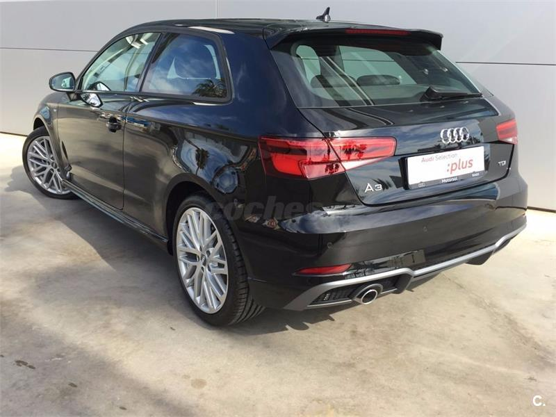 audi a3 s line edition 1 6 tdi diesel negro del 2017 con 4113km en barcelona 32846273. Black Bedroom Furniture Sets. Home Design Ideas