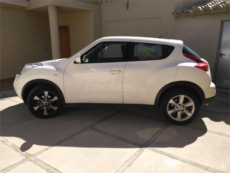 nissan juke 4x4 1 5 dci acenta 4x2 diesel de color blanco. Black Bedroom Furniture Sets. Home Design Ideas