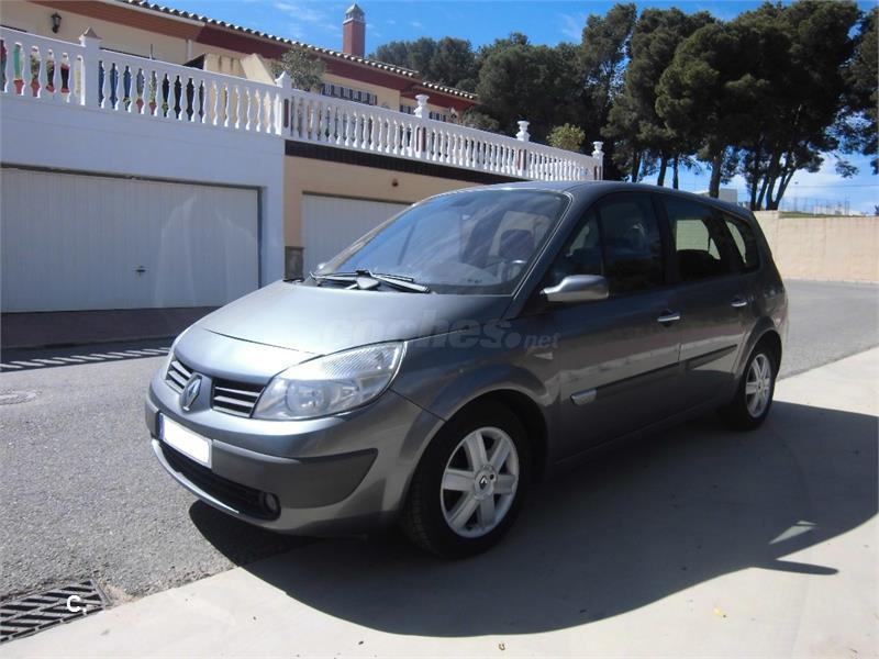 renault grand scenic luxe privilege eu4 diesel gris plata del 2005 con 127000km en. Black Bedroom Furniture Sets. Home Design Ideas
