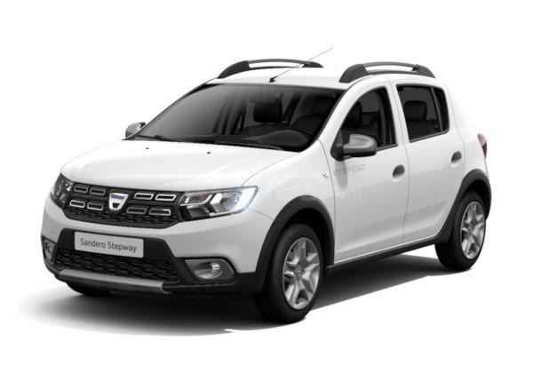 dacia sandero berlina stepway dci 66kw 90cv diesel de km0 de color blanco varios colores en. Black Bedroom Furniture Sets. Home Design Ideas