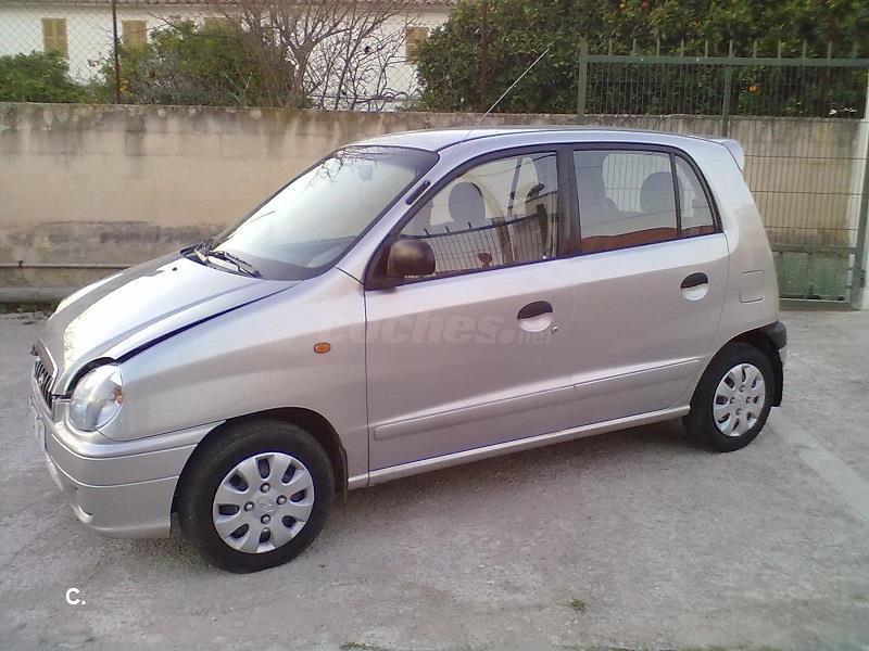 Hyundai Atos Prime 1 0i Gls Gasolina Gris Plata Del 2001