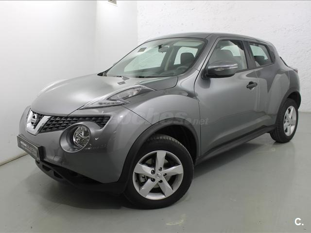 nissan juke 4x4 1 5 dci visia 4x2 diesel de color gris plata gris del a o 2016 con 3500km en. Black Bedroom Furniture Sets. Home Design Ideas
