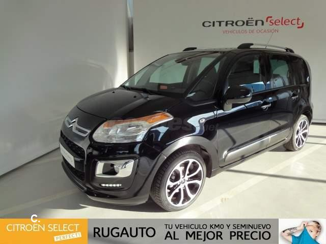 citroen c3 picasso bluehdi 100 feel edition diesel negro del 2016 con 13010km en burgos 32879341. Black Bedroom Furniture Sets. Home Design Ideas