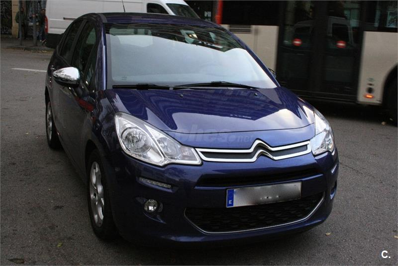 citroen c3 hdi 90 collection diesel azul del 2014 con 34000km en barcelona 32880310. Black Bedroom Furniture Sets. Home Design Ideas