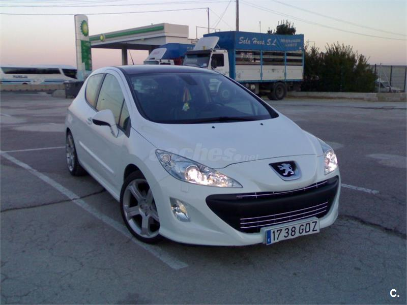 peugeot 308 gt 2 0 hdi 136 fap diesel blanco del 2008 con 204000km en valencia 32883110. Black Bedroom Furniture Sets. Home Design Ideas