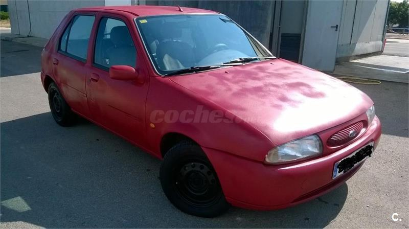 ford fiesta diesel rojo del 1997 con 97000km en valencia 32888824. Black Bedroom Furniture Sets. Home Design Ideas