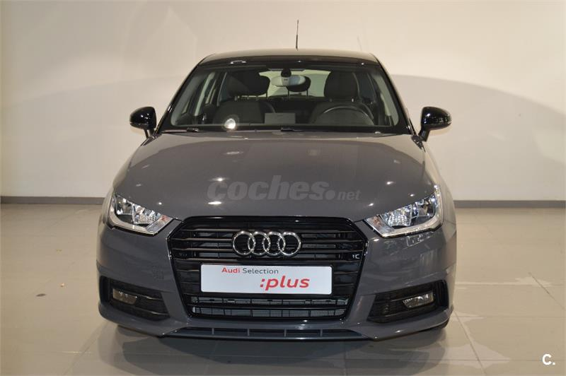 audi a1 sportback 1 0 tfsi 95cv adrenalin gasolina gris plata nano del 2016 con 9331km en. Black Bedroom Furniture Sets. Home Design Ideas