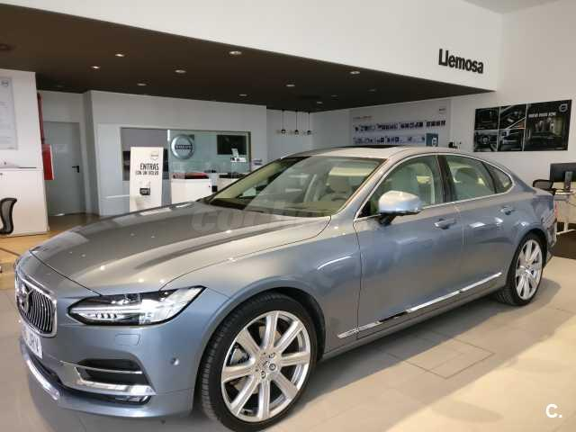 volvo s90 2 0 d5 awd inscription auto diesel azul azul. Black Bedroom Furniture Sets. Home Design Ideas