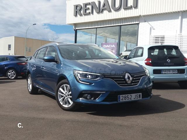 renault megane sp tourer zen en dci 81kw 110cv diesel azul azul berlin del 2016 con 10732km. Black Bedroom Furniture Sets. Home Design Ideas