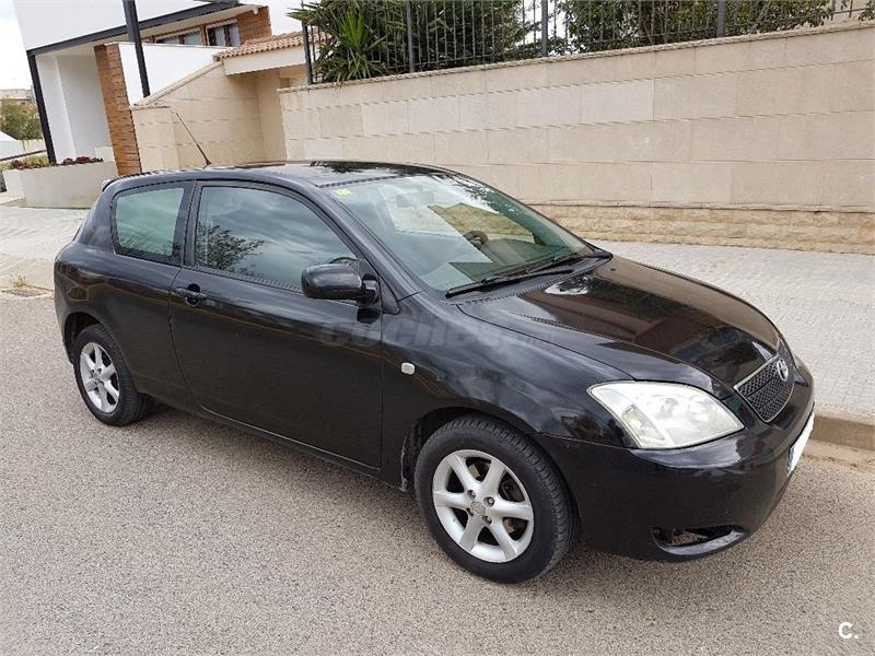 toyota corolla 2 0 d4d linea sol 116cv diesel negro 9 del 2003 con 326892km en tarragona 32913224. Black Bedroom Furniture Sets. Home Design Ideas