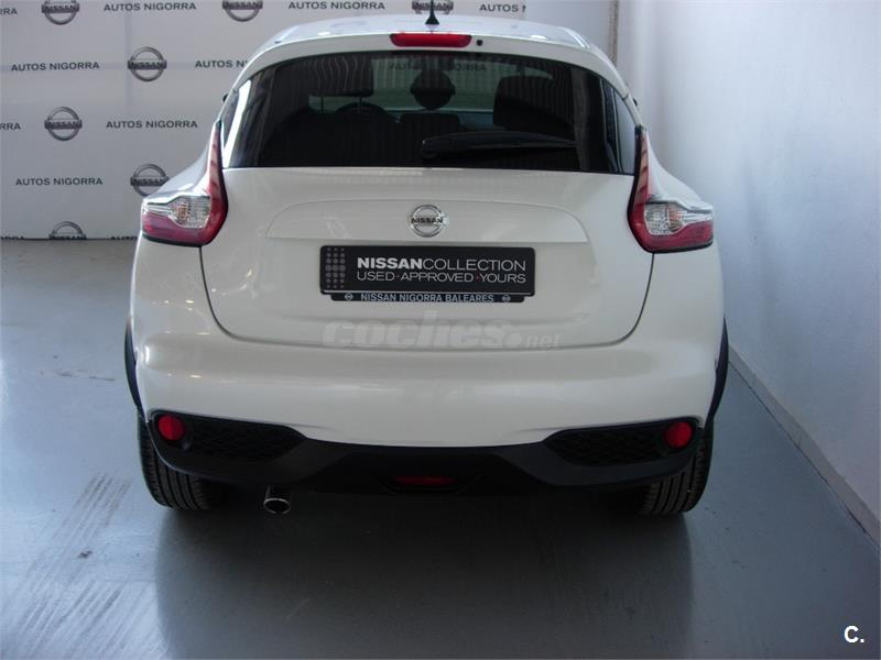 nissan juke 4x4 1 5 dci acenta 4x2 diesel de color blanco del a o 2016 con 13500km en baleares. Black Bedroom Furniture Sets. Home Design Ideas