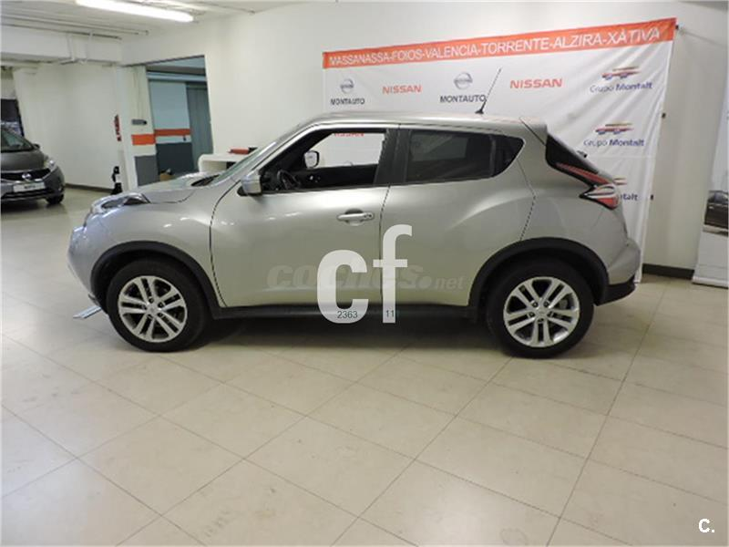 nissan juke 4x4 1 5 dci nconnecta 4x2 diesel de color gris plata gris plata del a o 2016. Black Bedroom Furniture Sets. Home Design Ideas