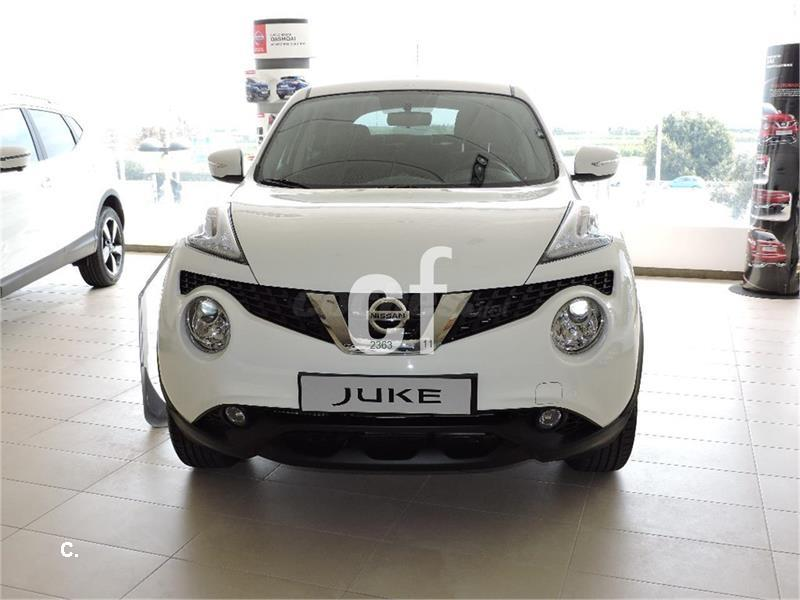 nissan juke 4x4 1 5 dci nconnecta 4x2 diesel de color blanco blanco del a o 2016 con 14300km. Black Bedroom Furniture Sets. Home Design Ideas
