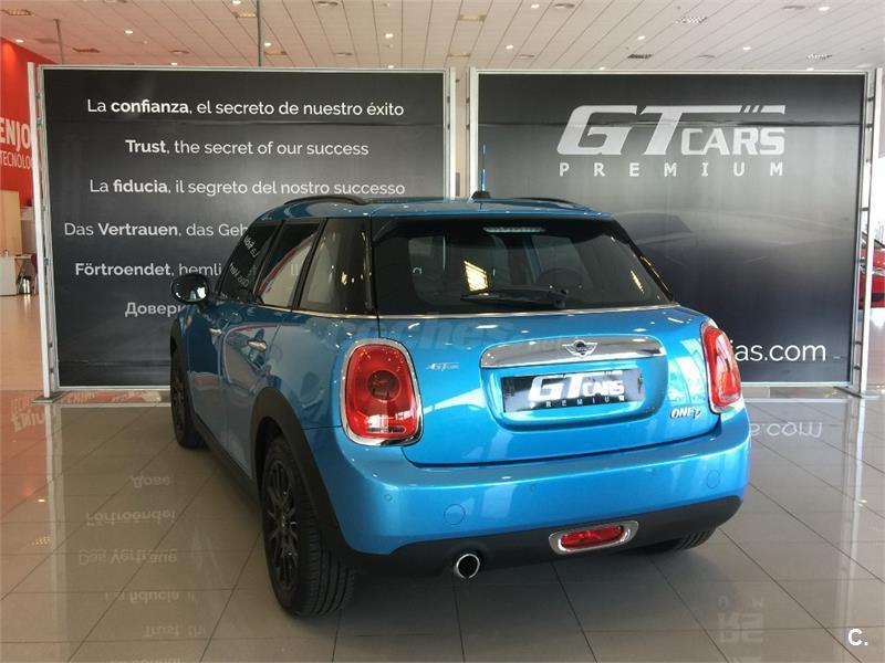 Mini one d 5 puertas diesel azul del 2016 con 7500km en - Puertas segunda mano tenerife ...