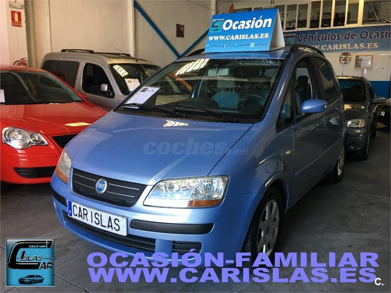 Fiat idea 1 4 16v active gasolina azul del 2005 con for Consumo del fiat idea 1 4