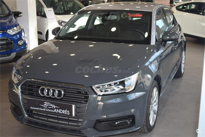 audi a1 sportback 1 6 tdi 116cv adrenalin diesel gris plata del 2016 con 5000km en teruel 32940987. Black Bedroom Furniture Sets. Home Design Ideas