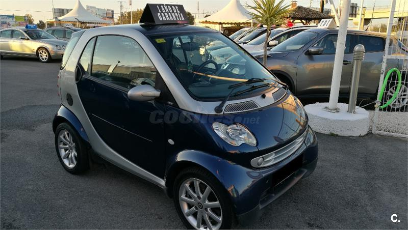 Smart fortwo coupe passion cdi diesel azul del 2007 con for Smart segunda mano sevilla