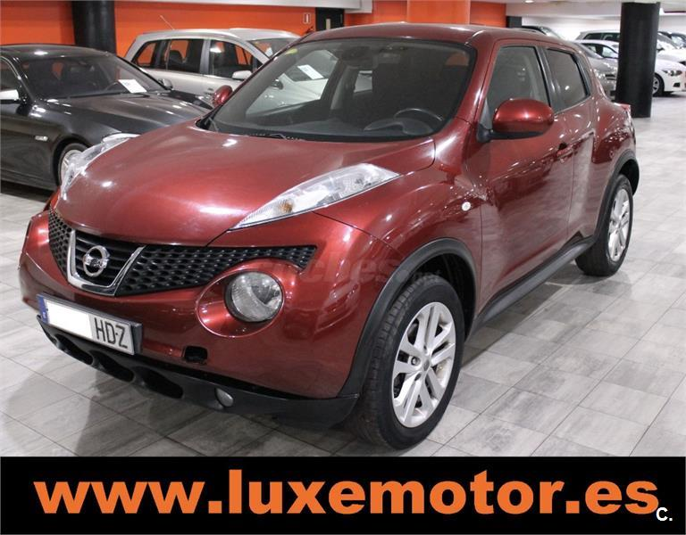 nissan juke 4x4 1 5 dci tekna premium 4x2 diesel de color granate del a o 2011 con 142219km en. Black Bedroom Furniture Sets. Home Design Ideas