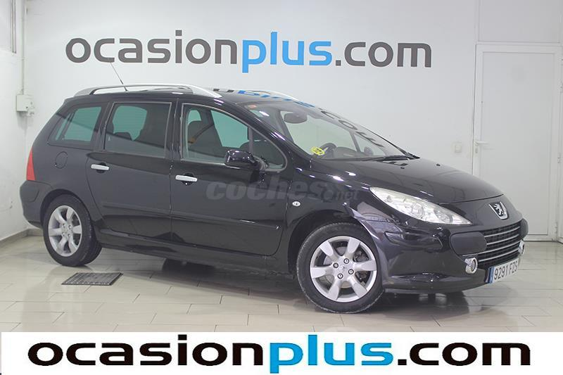peugeot 307 sw 1 6 hdi 110 fap dsign diesel negro del 2008 con 178000km en madrid 32951227. Black Bedroom Furniture Sets. Home Design Ideas