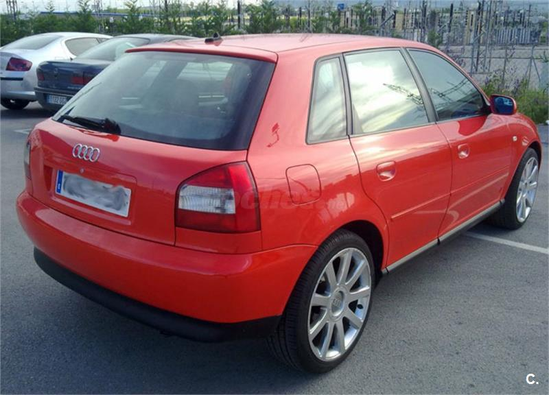 audi a3 1 9 tdi ambition 130 cv diesel rojo 10 del 2001 con 195000km en navarra 32952897. Black Bedroom Furniture Sets. Home Design Ideas