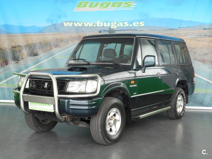 hyundai galloper 2 5 tdi 100 cv l 7 plazas 4x4 diesel verde verde del 1999 con 212194km en. Black Bedroom Furniture Sets. Home Design Ideas