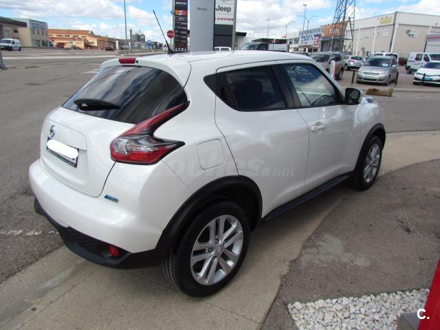 nissan juke 4x4 1 5 dci acenta 4x2 diesel de color blanco del a o 2015 con 23064km en teruel. Black Bedroom Furniture Sets. Home Design Ideas