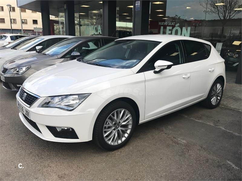 seat leon 1 6 tdi 85kw 115cv stsp style plus diesel blanco. Black Bedroom Furniture Sets. Home Design Ideas