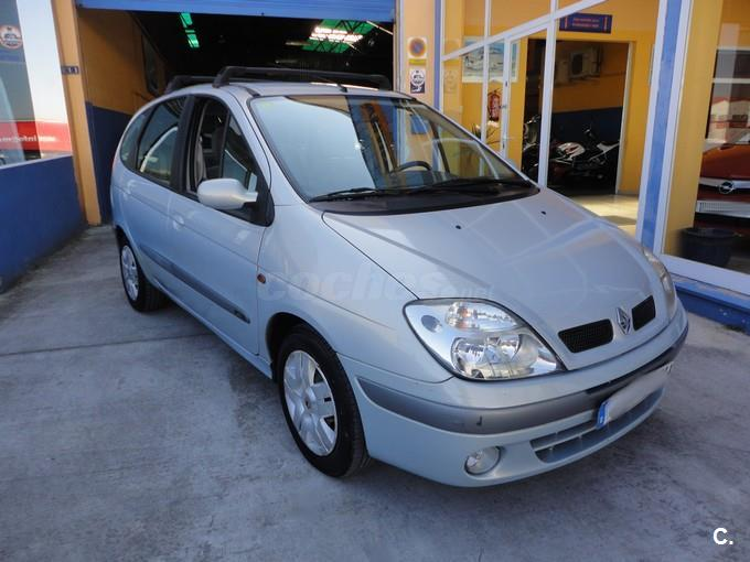 renault scenic confort expression diesel gris plata del 2003 con 200800km en baleares. Black Bedroom Furniture Sets. Home Design Ideas