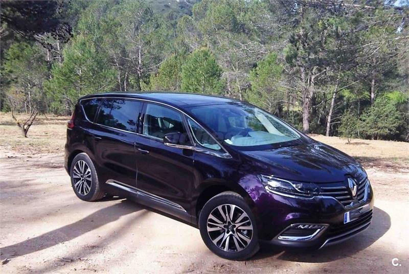 renault espace initiale p energy dci 160 twin tur edc diesel negro 9 del 2015 con 40516km en. Black Bedroom Furniture Sets. Home Design Ideas