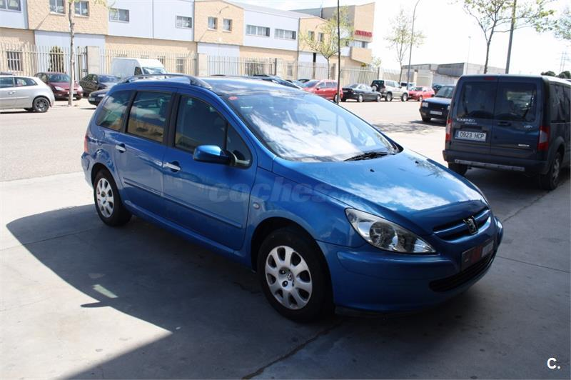 peugeot 307 sw 2 0 hdi 90 diesel azul del 2002 con 144000km en zaragoza 33010845. Black Bedroom Furniture Sets. Home Design Ideas