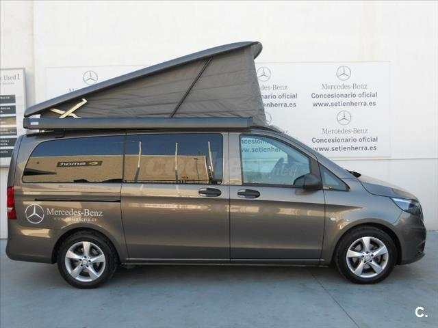mercedes benz vito 180 d marco polo activity largo diesel gris plata gris indio del 2016 con. Black Bedroom Furniture Sets. Home Design Ideas
