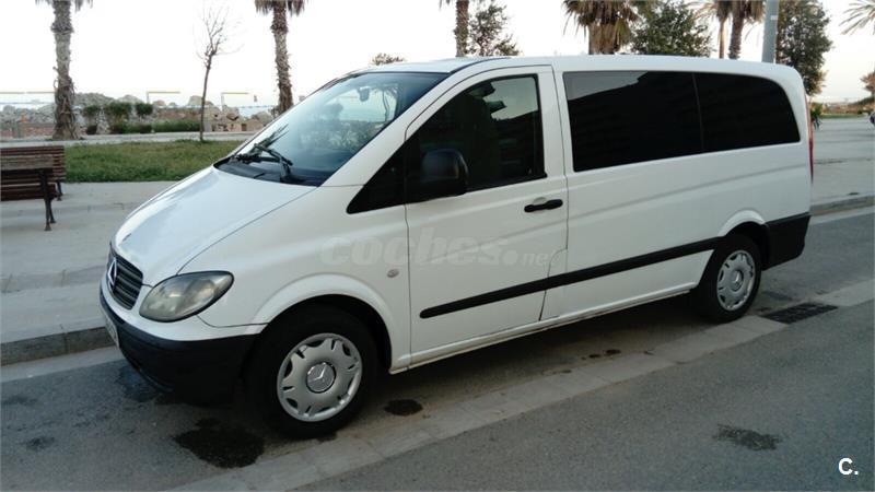 mercedes benz vito diesel del a u00f1o 2007 con 299765km 33016020 Mercedes 7 Passenger Van Mercedes-Benz Vito 2002