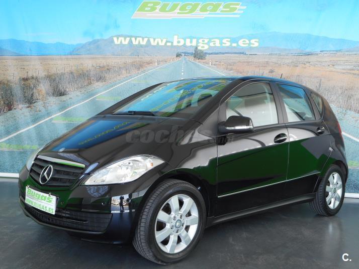 Mercedes benz clase a diesel negro negro del 2009 con for 5 puertas pontevedra