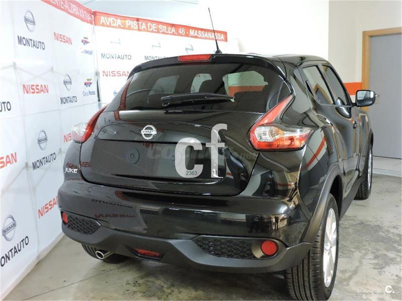 nissan juke 4x4 1 5 dci acenta 4x2 diesel de color negro negro del a o 2016 con 20157km en. Black Bedroom Furniture Sets. Home Design Ideas