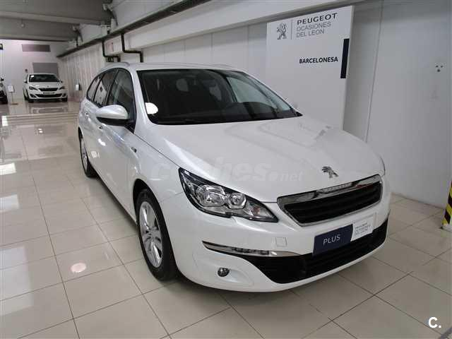peugeot 308 sw style 1 6 bluehdi 88kw 120cv diesel blanco del 2017 con 0km en barcelona 33032457. Black Bedroom Furniture Sets. Home Design Ideas