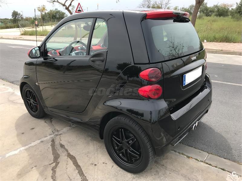 Smart fortwo coupe 52 mhd grey matt collection gasolina for Smart segunda mano sevilla