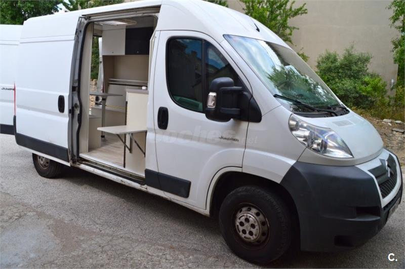 furgoneta citroen jumper l2h2 camper en barcelona 33049465. Black Bedroom Furniture Sets. Home Design Ideas