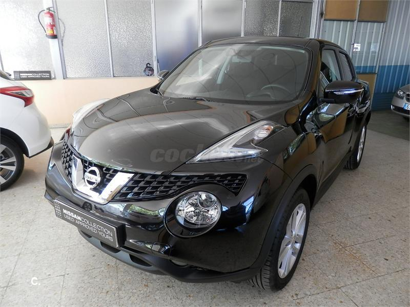 nissan juke 4x4 dci eu6 81 kw 110 cv 6mt acenta diesel de demostraci n de color negro en burgos. Black Bedroom Furniture Sets. Home Design Ideas