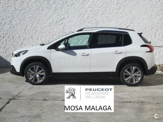 peugeot 2008 4x4 allure 1 2 puretech 96kw 130cv ss gasolina de km0 de color blanco en m laga. Black Bedroom Furniture Sets. Home Design Ideas