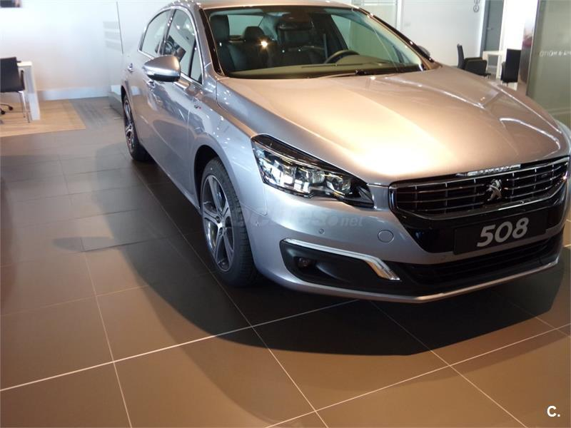 peugeot 508 berlina gt 2 0 bluehdi 133kw 180cv autom diesel de km0 de color gris plata en a. Black Bedroom Furniture Sets. Home Design Ideas