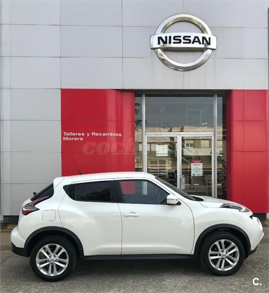 nissan juke 4x4 1 5 dci acenta 4x2 diesel de color blanco del a o 2016 con 5564km en huesca 33088505. Black Bedroom Furniture Sets. Home Design Ideas