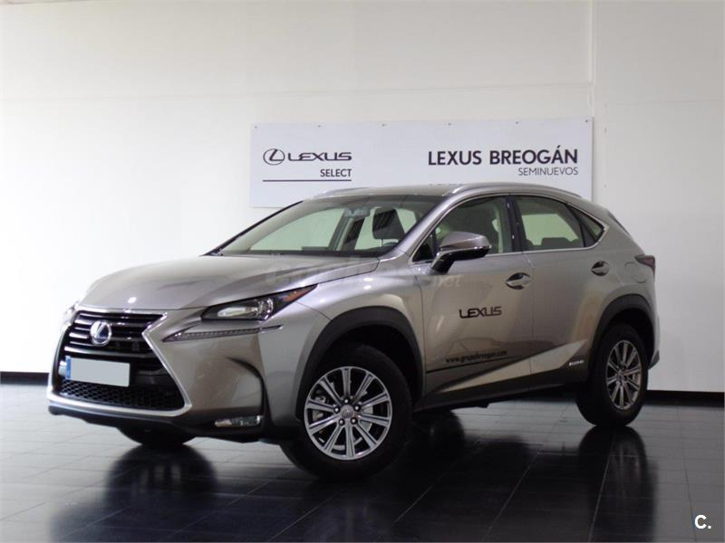 lexus nx 4x4 2 5 300h business 2wd el ctrico h brido de demostraci n de color gris plata. Black Bedroom Furniture Sets. Home Design Ideas