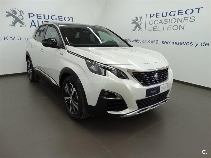 peugeot 3008 4x4 1 2 puretech 96kw 130cv gt line ss gasolina de km0 de color blanco en albacete. Black Bedroom Furniture Sets. Home Design Ideas