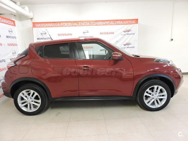 nissan juke 4x4 1 5 dci acenta 4x2 diesel de gerencia de color rojo telf de contacto. Black Bedroom Furniture Sets. Home Design Ideas