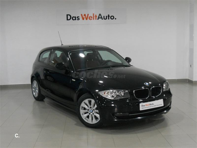 bmw serie 1 120d diesel negro del 2010 con 103000km en madrid 33129991. Black Bedroom Furniture Sets. Home Design Ideas