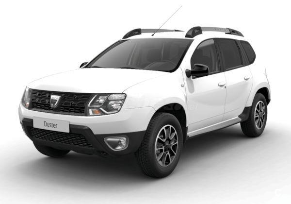 dacia duster 4x4 sl blacks dci 80kw 109cv 4x2 edc 2017 diesel de km0 de color blanco varios. Black Bedroom Furniture Sets. Home Design Ideas