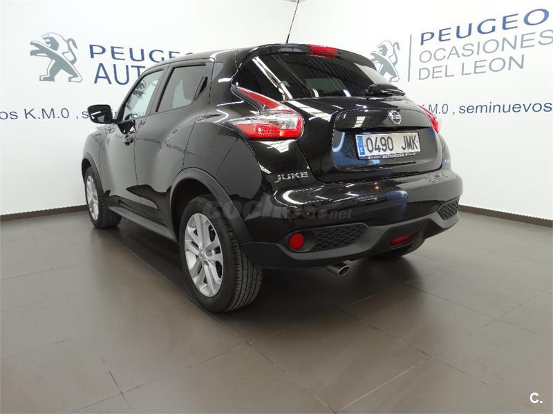 nissan juke 4x4 1 5 dci acenta 4x2 diesel de km0 de color negro en albacete 33177992. Black Bedroom Furniture Sets. Home Design Ideas