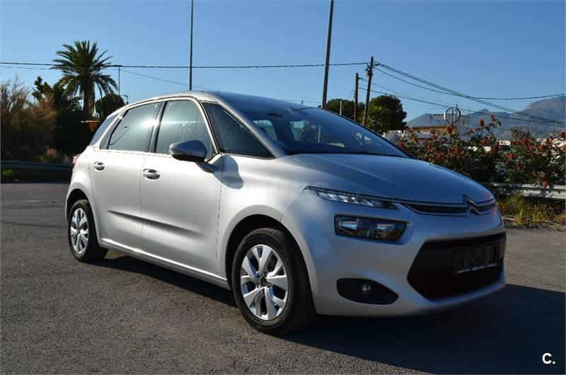 citroen c4 picasso 1 6 hdi 115cv attraction diesel gris. Black Bedroom Furniture Sets. Home Design Ideas