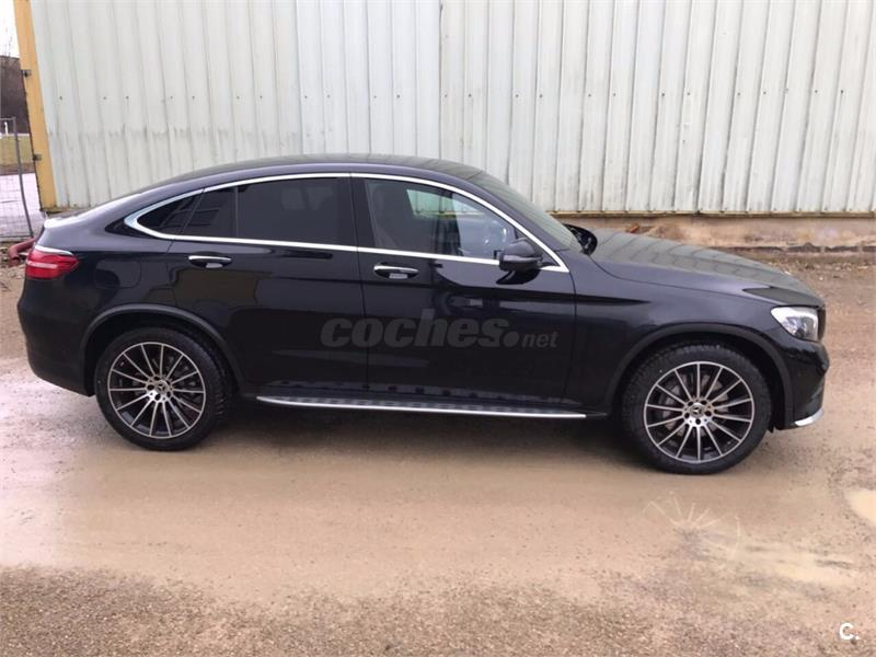 mercedes benz glc coupe 4x4 glc 250 d 4matic diesel de nuevo de color negro en madrid 33196550. Black Bedroom Furniture Sets. Home Design Ideas