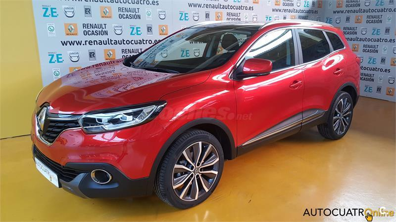 renault kadjar zen energy dci 96kw 130cv diesel rojo rojo deseo metalizado especial del 2017. Black Bedroom Furniture Sets. Home Design Ideas